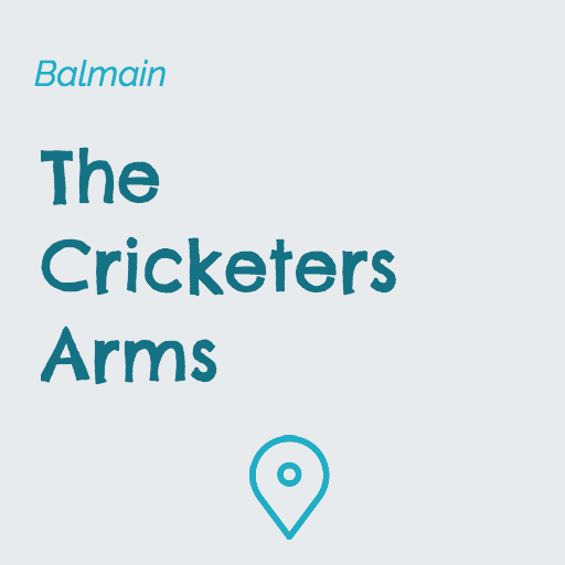 The Cricketers Arms Balmain on Pupsy