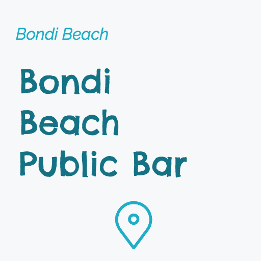 Bondi Beach Public Bar on Pupsy