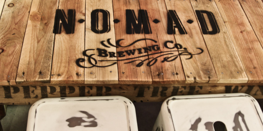 Nomad Brewing on Pupsy
