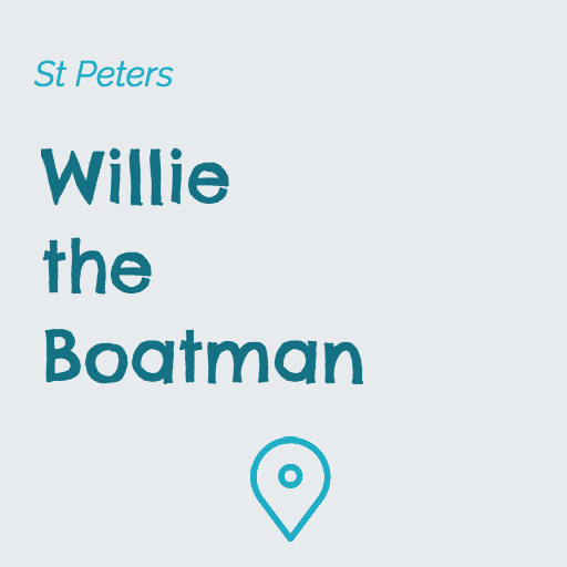 Willie the Boatman on Pupsy