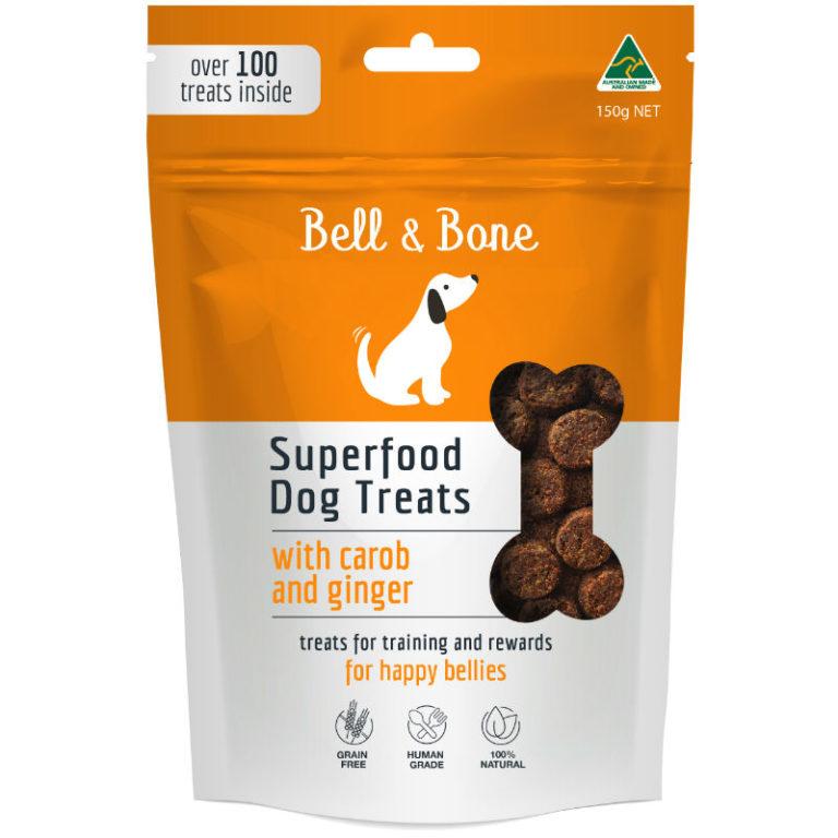 BELL & BONE SUPERFOOD TREAT RANGE_CAROB FOP 8*8