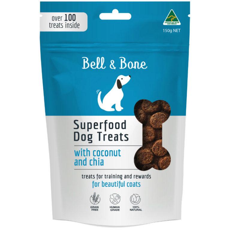 BELL & BONE SUPERFOOD TREAT RANGE_COCONUT FOP8*8