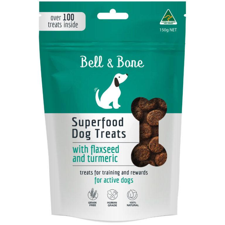 BELL & BONE SUPERFOOD TREAT RANGE_FLAXSEED FOP 8*8