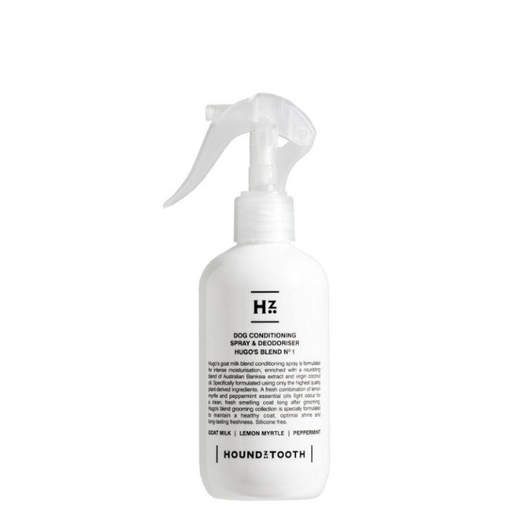Houndztooth_Dog_Conditioning_Spray_&_Deodoriser_Hugos_Blend_no1 WEB 8*8