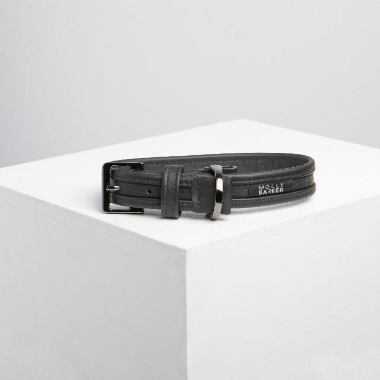 australian-designer-dog-collars-and-leads-molly-barker-sasha-collar-black