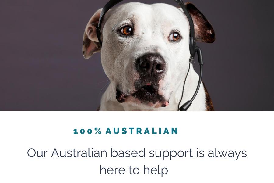 100% Australian Support